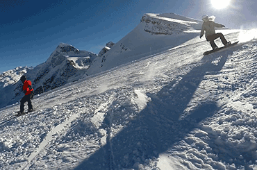 Skischule Scheidegg Snowboard Advanced carving